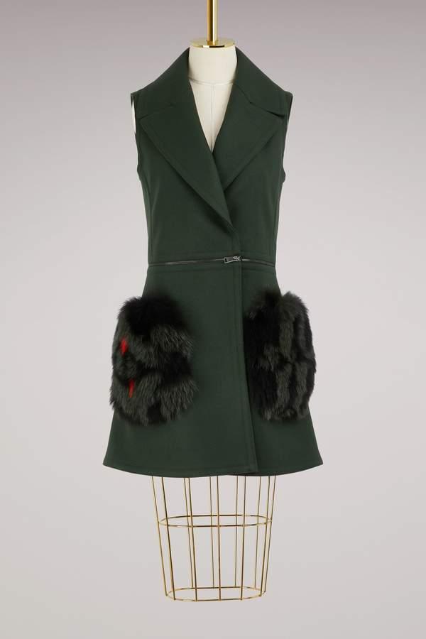 Fendi Sleeveless coat