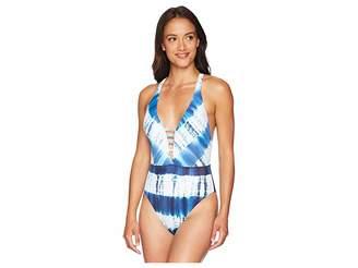 Lucky Brand Costa Azul One-Piece Women's Swimsuits One Piece