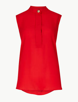 Marks and Spencer High Neck Shell Top