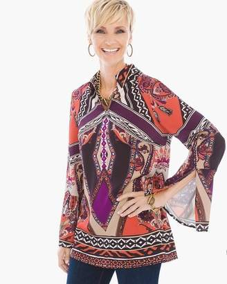 Chico's Gorgeous Statement-Sleeve Tunic