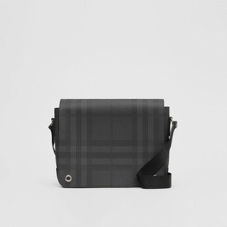 Burberry Check and Leather Satchel