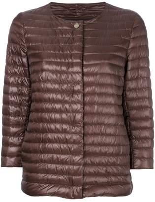 Herno padded cropped jacket
