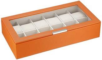 Wolf 309839 Stackable 12 Piece Watch Tray with Lid