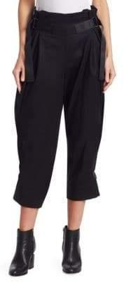 Issey Miyake Crop Belt Pants