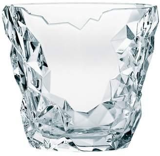 Nachtmann Round Crystal Sculpture Vase