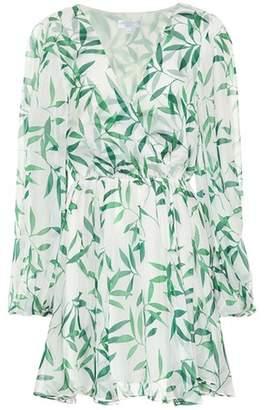 Caroline Constas Olena printed silk chiffon dress