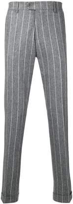 Berwich classic striped trousers