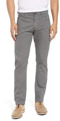AG Jeans Tellis Fine Plaid Slim Fit Pant