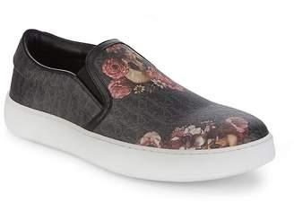 Christian Dior Men's Floral Slip-On Sneakers