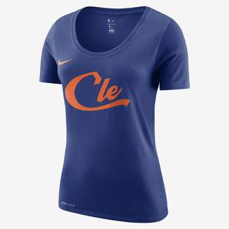 Nike Women's NBA T-Shirt Cleveland Cavaliers City Edition Dri-FIT