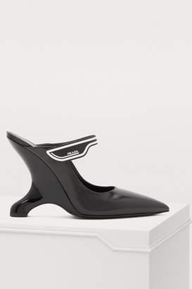 Prada High-heeled mules
