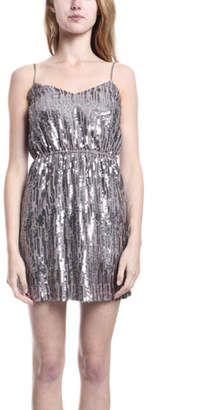 Twelfth St. By Cynthia Vincent Sequin Slip Dress