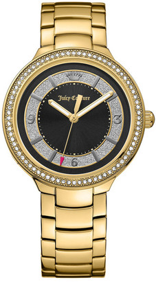 Juicy Couture Women&s Catalina Crystal Bracelet Watch $250 thestylecure.com