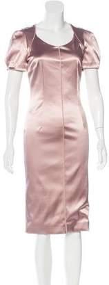 Dolce & Gabbana Short Sleeve Midi Dress