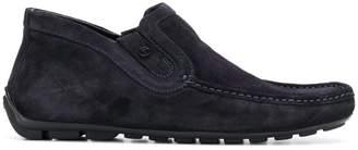 Baldinini square toe lined driving shoes