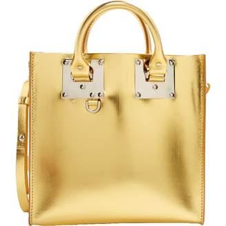 Sophie Hulme Gold Patent leather Handbag