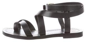 Tory Burch Crossover Slingback Sandals