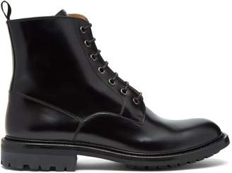 Church's Nanalah Lace Up Leather Ankle Boots - Womens - Black