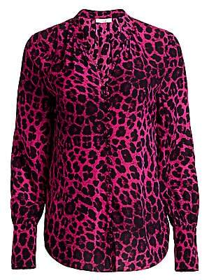 Joie Women's Tariana Leopard-Print Blouse
