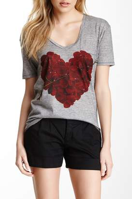 Couture Go V-Neck Printed Tee
