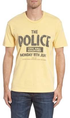Original Retro Brand The Police Graphic T-Shirt