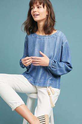 Cloth & Stone Chambray Pullover
