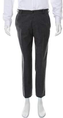 Oliver Spencer Wool Flat Front Pants
