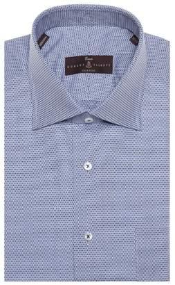 Robert Talbott Tailored Fit Geometric Dress Shirt