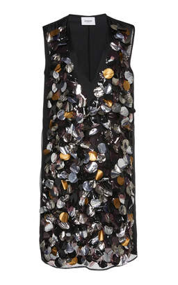 Dondup Paillette Embellished Dress