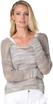 Soybu Women's Gigi Strappy Back Yoga Sweater