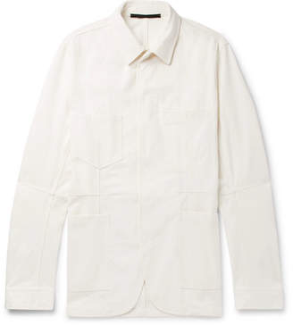 Haider Ackermann Cotton-Canvas Chore Jacket - Sand