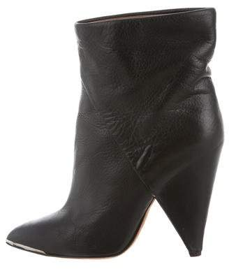 Iro Pointed-Toe Ankle Boots