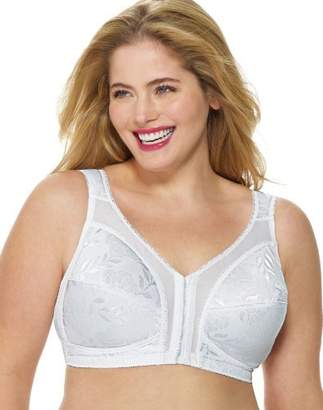 Playtex Women's Plus Size Front-Close 18 Hour Bra - , 48 DD
