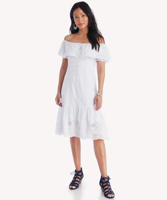 Astr Women's Alyssa Dress In Color: Pale Blue Stripe Size XS From Sole Society