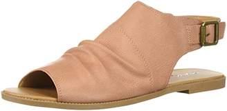 Qupid Women's Mule Heeled Sandal