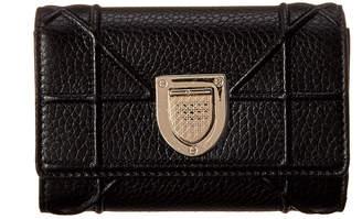 Christian Dior Diorama Tri-Fold Leather Wallet