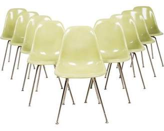 Modernica Set of 9 Case Study Side Chairs