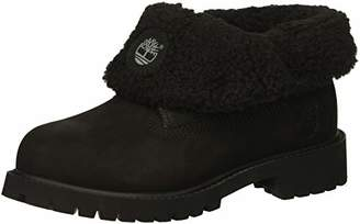 Timberland Unisex Icon Collection Roll-top with Fleece Fashion Boot