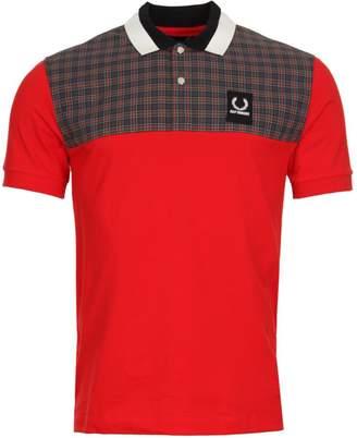 Raf Simons Fred Perry x Polo Shirt - Goji Berry