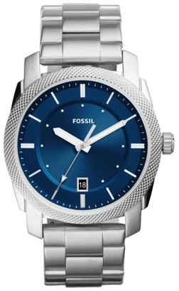 Fossil Machine Bracelet Watch, 42Mm $105 thestylecure.com