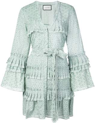 Alexis Audrea broderie anglaise shirt dress