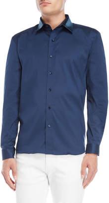 Bolongaro Trevor Denim Collar Sport Shirt