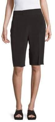 Max Mara Silk Solid Shorts