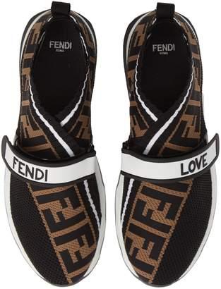 Fendi Rockoko Knit Sneaker