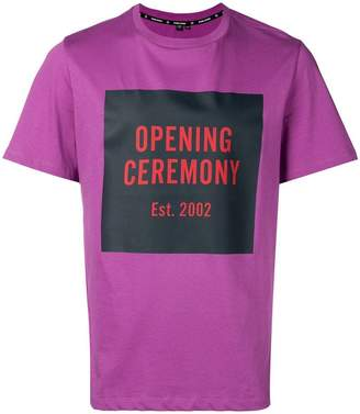 Opening Ceremony logo box T-shirt