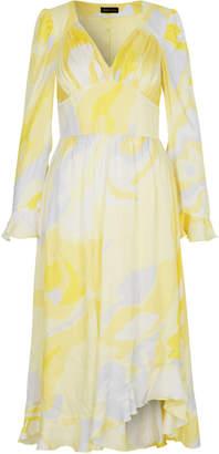 Stine Goya Freesia Long Sleeve Midi Dress