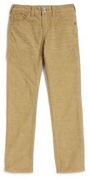 True Religion Boy's Geno Corduroy Jeans $79 thestylecure.com