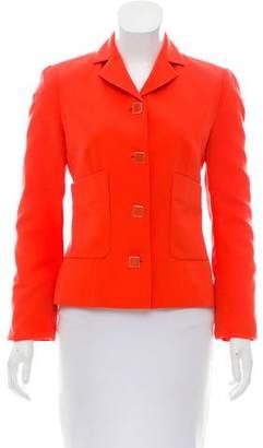 Valentino Notch-Lapel Jacket