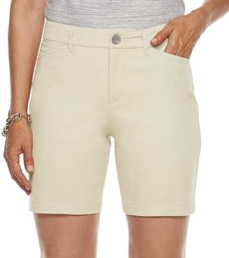 Croft & Barrow Women's Classic Stretch Shorts
