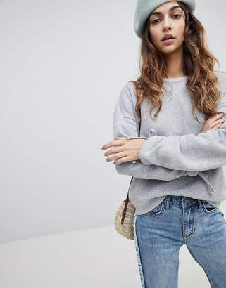 Soaked in Luxury Soaked In Luxury Gather Sleeve Sweatshirt